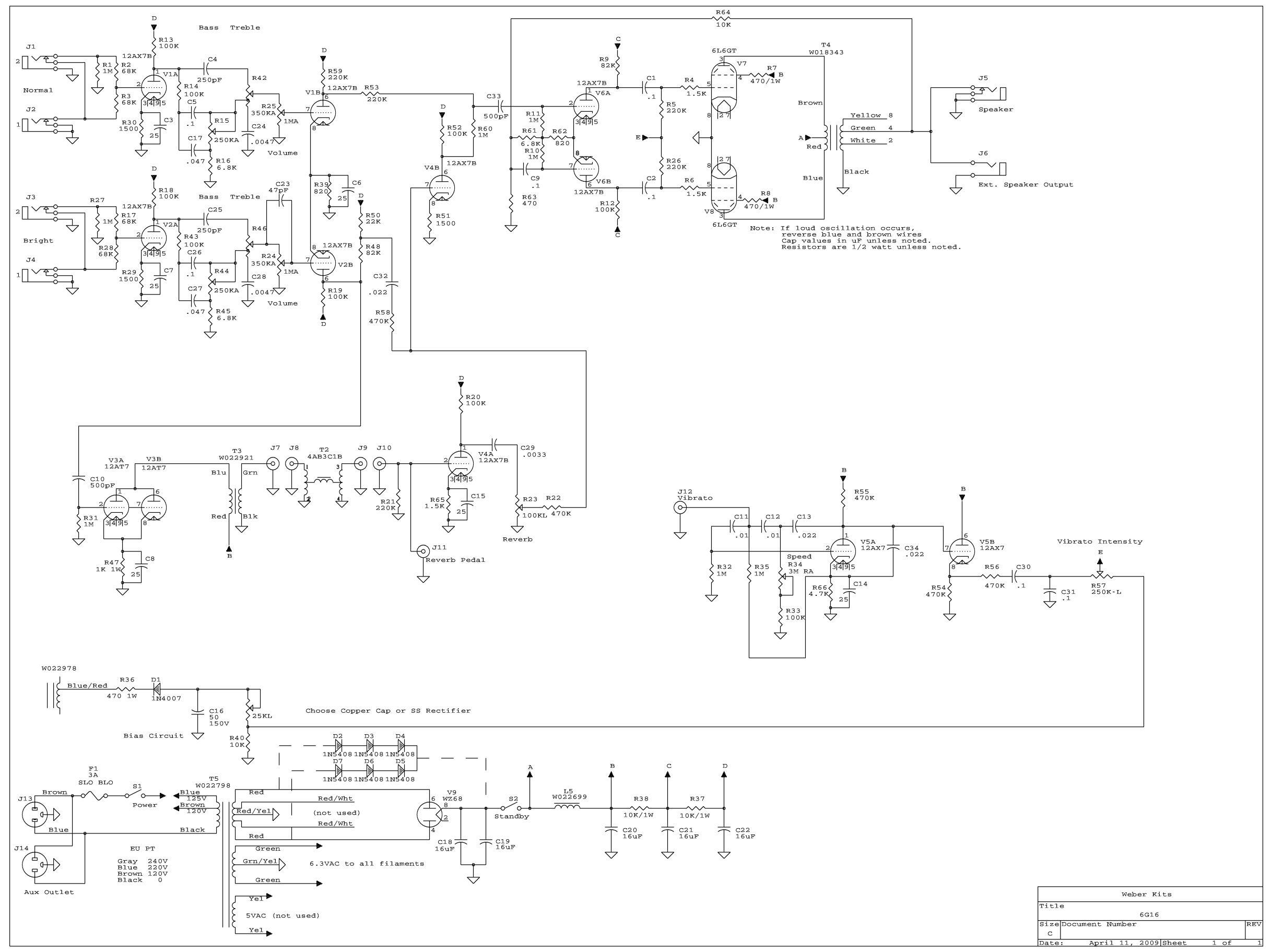 Elenco dei Kit di ampli a valvole con relativi link - 01
