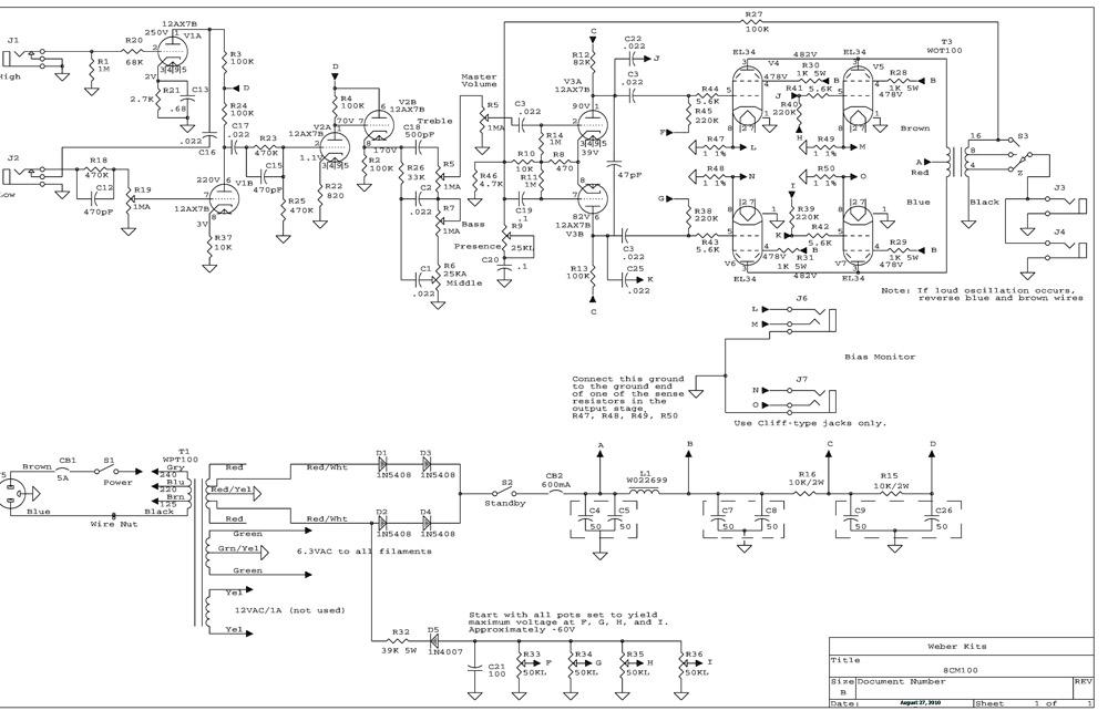 sunn amp schematic  | 1179 x 1528