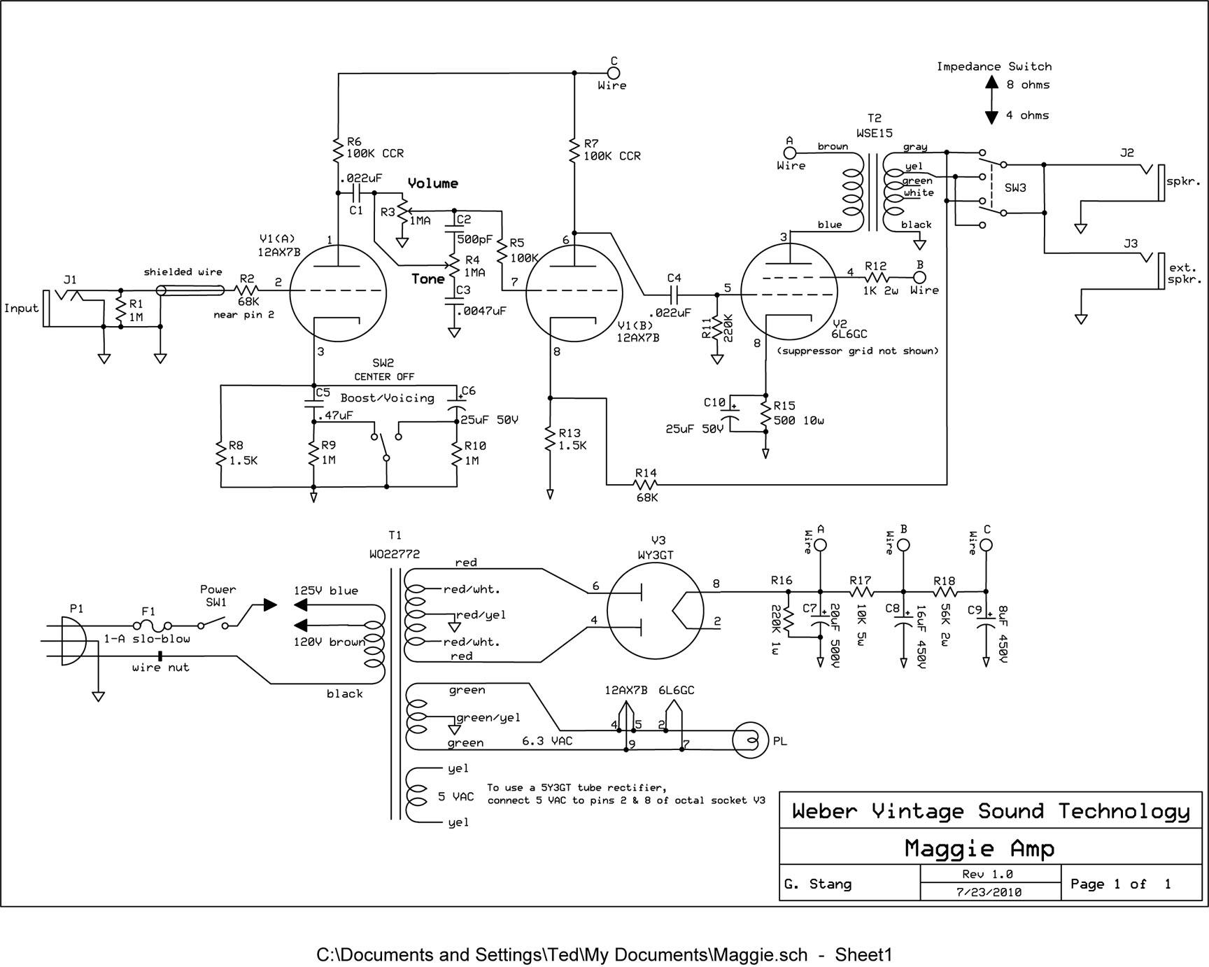 Elenco dei Kit di ampli a valvole con relativi link - 01 - diyitalia