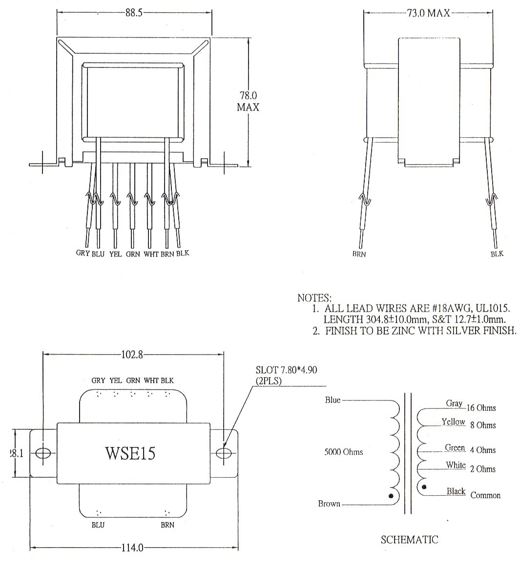 wse15sch wse15 transformer mercury magnetics wiring diagram at readyjetset.co