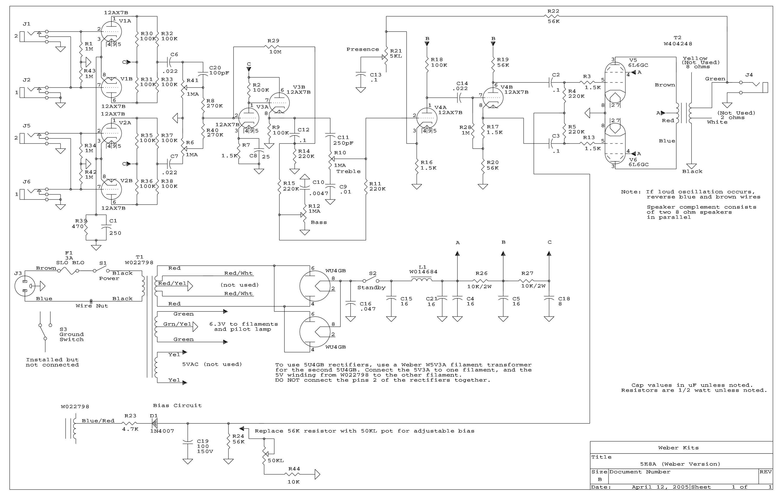 5E8A Amp Kit
