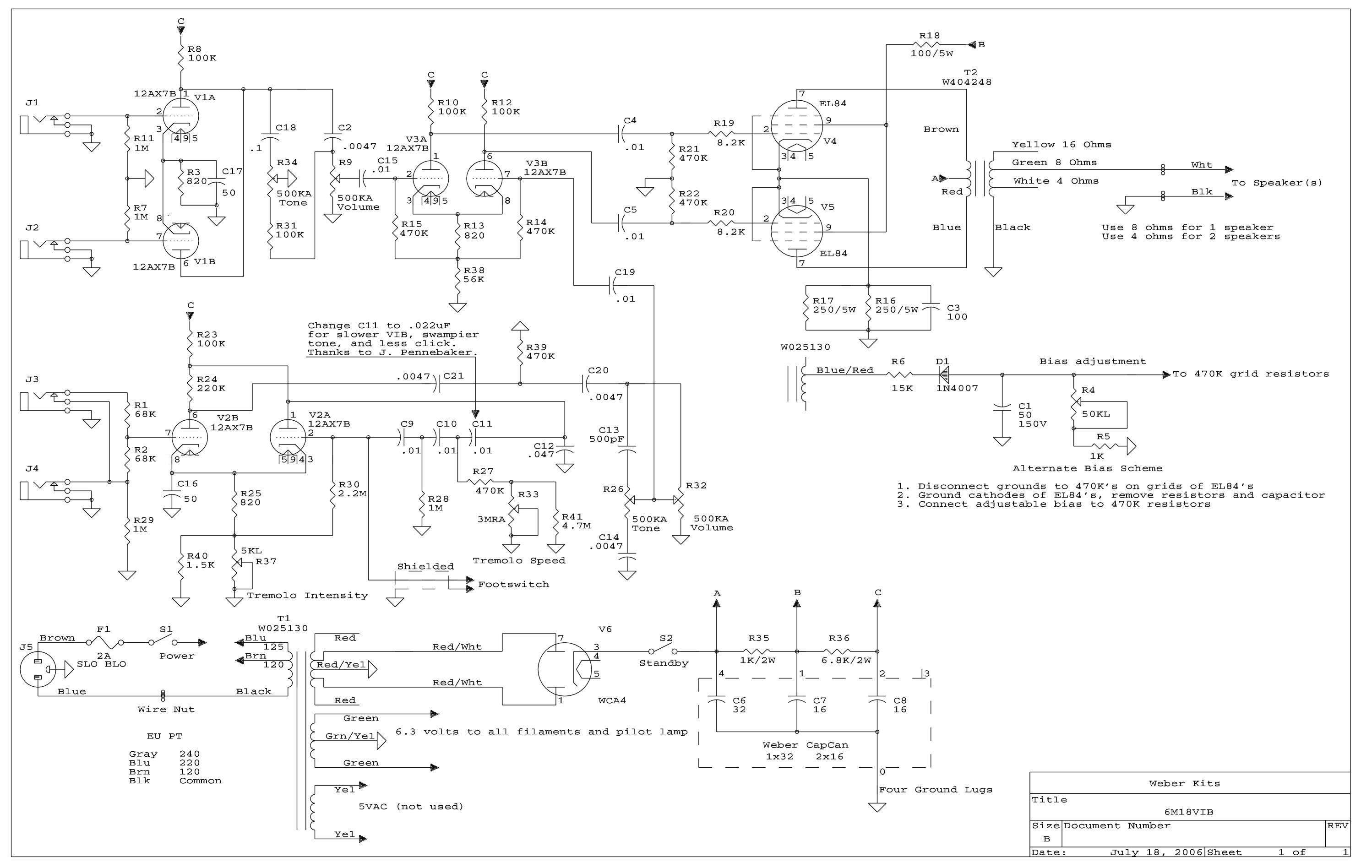 6m18vib_schem 6m18 amp kit weber ksg 470 wiring diagrams at crackthecode.co